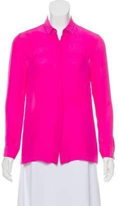 Jenni Kayne Silk Button-Up Top