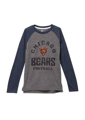 Classic Chicago Bears NFL Gridiron Long Sleeve Raglan T-Shirt (Big Boys)