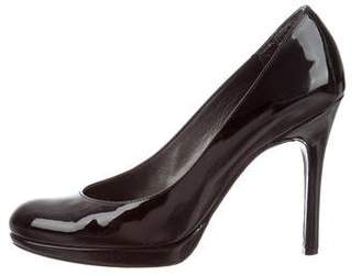 Stuart Weitzman Patent Leather High-Heel Pumps