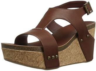 Sugar Women's Junebug Cork Wedge Sandals