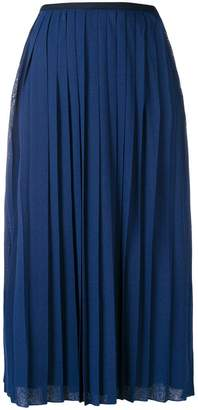 See by Chloe pleated mid-length skirt