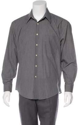 Saint Laurent Printed Button-Up Shirt