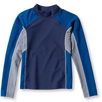 L.L. Bean (エルエルビーン) - ボーイズ・サン・アンド・サーフ・シャツ、長袖 カラーブロック