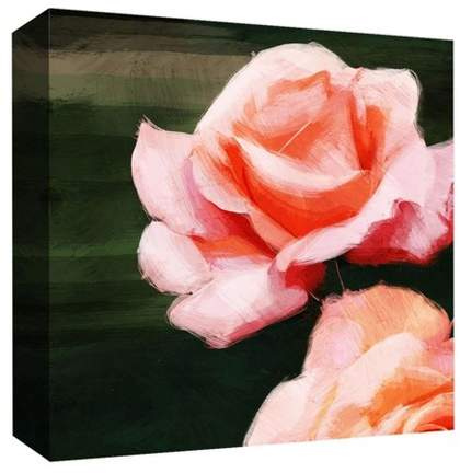 Rose Inspiration I Decorative Canvas Wall Art 16