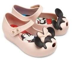 Mini Melissa Girl's Disney Twins II Mary Jane Flats