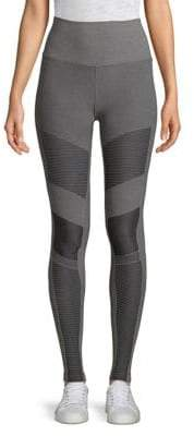 Alo Yoga Textured Moto Leggings