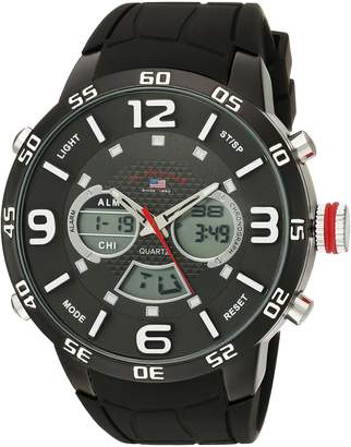U.S. Polo Assn. Sport Men's US9541 Analog-Digital Display Analog Quartz Watch