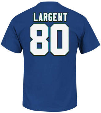 Majestic Men Steve Largent Seattle Seahawks Hof Eligible Receiver T-Shirt