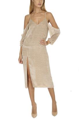 Warehouse Michelle Mason Drop Shoulder Slip Dress