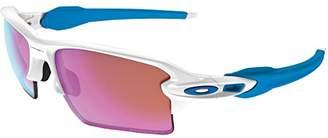 Oakley Men's Flak 2.0 (a) Non-Polarized Iridium Rectangular Sunglasses