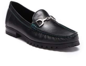 Donald J Pliner Tyros Leather Bit Loafer