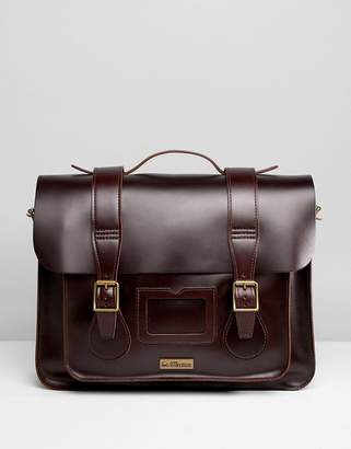Dr. Martens 15 Inch Leather Satchel