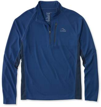 L.L. Bean L.L.Bean Ridge Runner Quarter-Zip, Long-Sleeve Colorblock