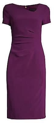 Donna Karan Women's Ruched Side Sheath Dress