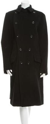 Yohji Yamamoto Double Slim Coat w/ Tags $995 thestylecure.com