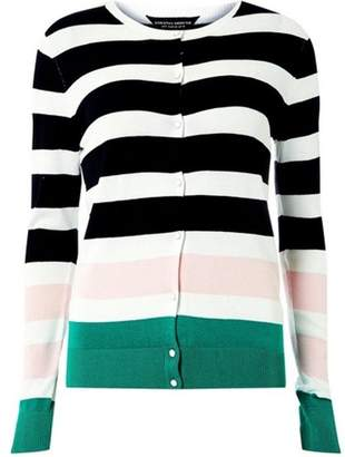 Dorothy Perkins Womens **Tall Multi Colour Striped Cardigan