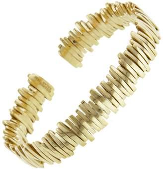 Suzanne Kalan 11mm Solid Bangle Bracelet - Yellow Gold