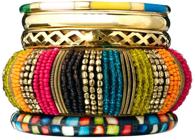 Pieces Multi Bracelet Set