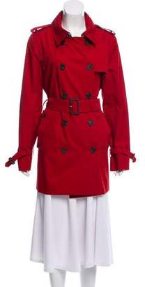 Aquascutum London Double-Breasted Trench Coat
