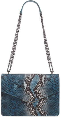 Ted Baker Garance Snake Embossed Leather Shoulder Bag