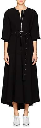 Proenza Schouler Women's Textured Crepe Zip-Front Dress