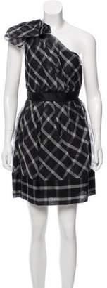 Thread Social Silk Off-The-Shoulder Dress