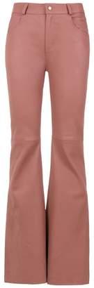 Clé leather trousers