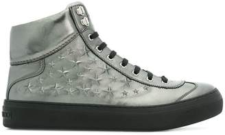 Jimmy Choo Argyle hi-top sneakers