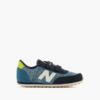 Kids' New Balance® for crewcuts glow-in-the-dark 410 sneakers $55 thestylecure.com