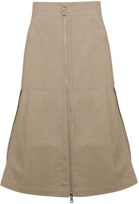 Burberry High Waisted Skirt