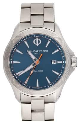 Baume & Mercier BAUME AND MERCIER Clifton Club Bracelet Watch, 42mm