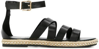Twin-Set buckled strappy sandals