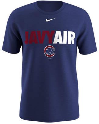 Nike Men Javier Baez Chicago Cubs Local Pack T-Shirt