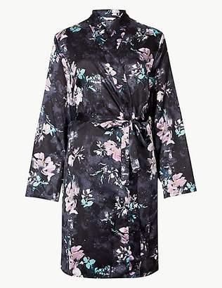 Satin Dressing Robe - ShopStyle UK