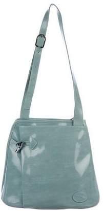 Longchamp Patent Leather Shoulder Bag