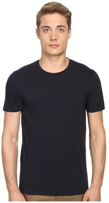 Vince Short Sleeve Pima Cotton Crew Neck Shirt Men's Short Sleeve Pullover