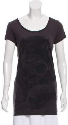 AllSaints Graphic Scoop Neck T-Shirt