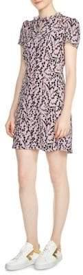 Maje Rambao Silk Dress