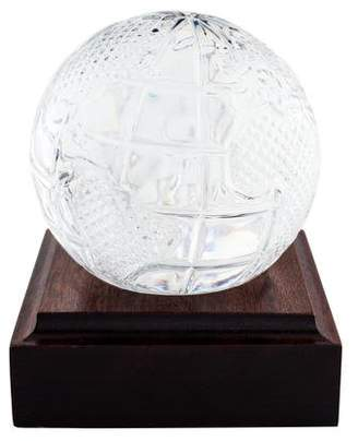 Waterford Crystal Globe Paperweight