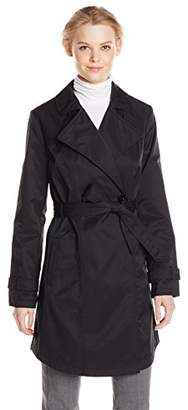 Kenneth Cole Women's Classic Trench Coat $20.56 thestylecure.com