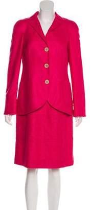Akris Silk-Blend Dress Set