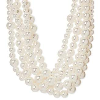 SUGARFIX by BaubleBar Multi Strand Pearl Choker Necklace - Pearl $19.99 thestylecure.com