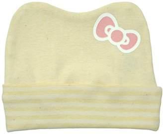 Hello Kitty (ハロー キティ) - 村信 ハローキティ 洛陽染めオーガニック 帽子 クリーム HK113 日本製