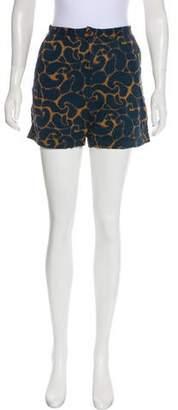Rachel Comey Printed Mini Shorts