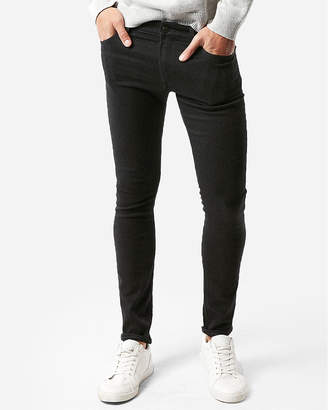 Express Super Skinny Black Stretch+ Jeans