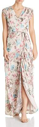 Yumi Kim Swept Away Floral Silk Maxi Dress