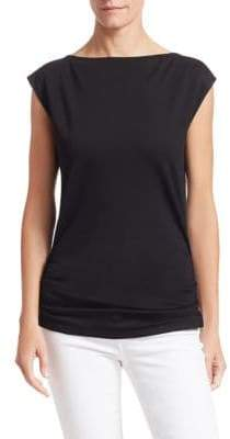 Theory Minimal Ruched Tee