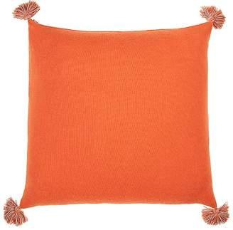Alicia Adams Alpaca Pom-Pom Baby Alpaca Pillow