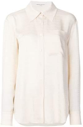 Sonia Rykiel buttoned satin shirt