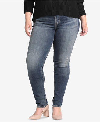 Silver Jeans Co. Plus Size Avery High-Rise Curvy-Fit Slim Jeans